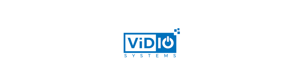 VidIO - Servers and Storage Architected for Video Surveillance